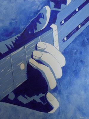 gitaar, 2020  40x50