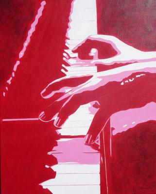 Piano, 2020  40x50