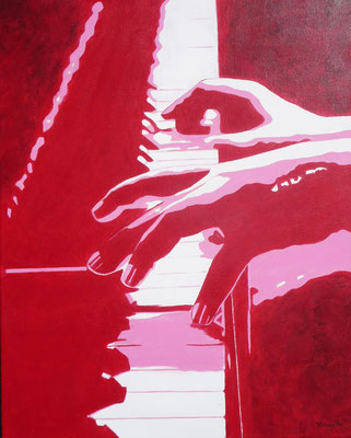 piano (Pinterest, Amira) , 2020  40x50