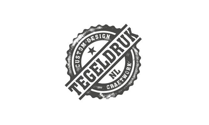 Tegeldruk  - logo ontwerp
