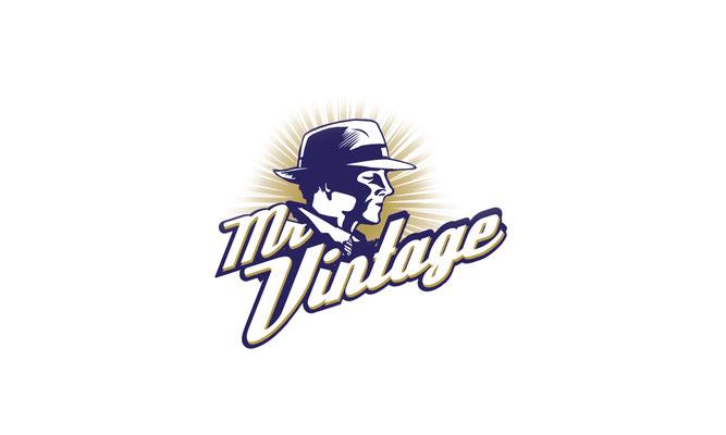 mr Vintage  - logo ontwerp