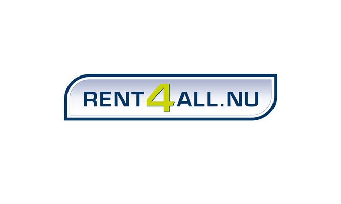 Rent4all.nu  - logo ontwerp