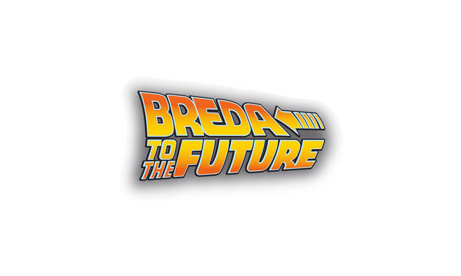 Breda to the future - logo ontwerp