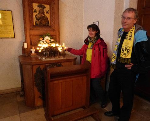 Dreifaltigkeitskirche  Tour Fussball Fieber Dortmund