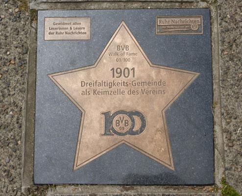 Walk of Fame über die BVB Historie  Rundfahrt Fussball Fieber Dortmund