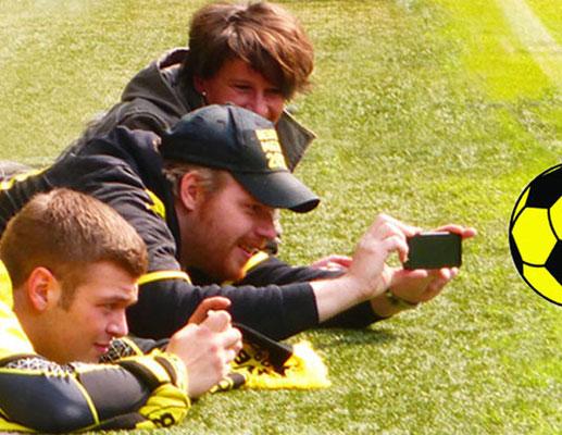 Fans schwarz gelbe Fotosafari  Führung Fussball Fieber Dortmund