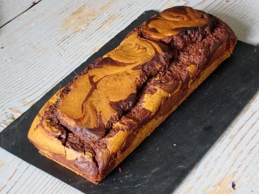 Marbré chocolat potiron