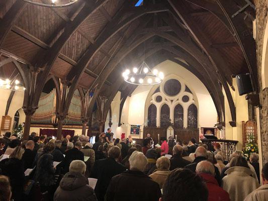 Carol Service du 23 Décembre 2017 (Photo: G. Le Creurer)