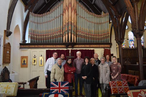Visite de la classe d'orgue de l'Université Duquesne de Pittsburgh, avec leur professeur, Ann Labounsky. Le 19 Mai 2019