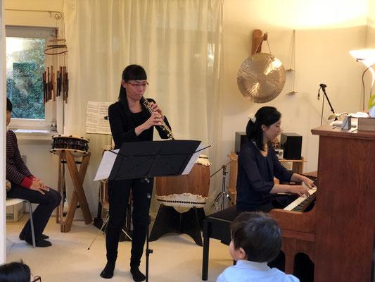オーボエとピアノ