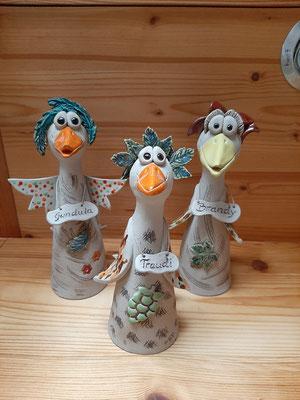Keramikvogel Gartenkeramik