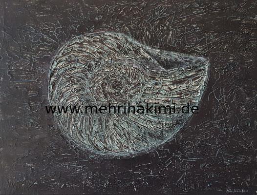 ´Spuren der Vergangenheit´die Schnecke (Leinwand 40x50)