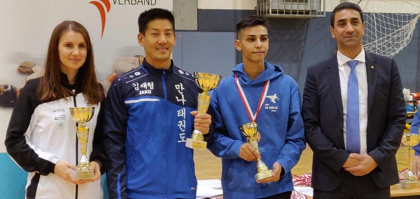 1. Platz Teamwertung Kyorugi Vienna Open 2018