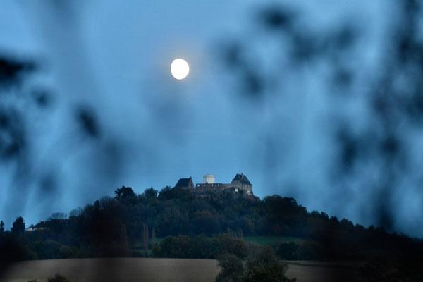 Foto: Reinhold Daab - Mond über'm Otzberg