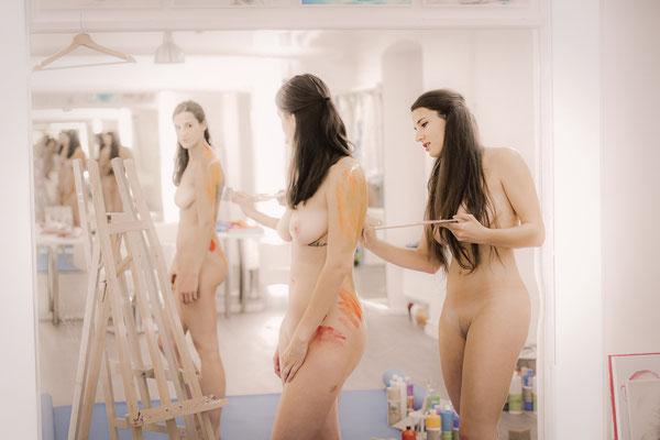 Nude art Bodyart Fotograf M.Weiler