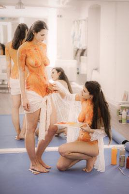 Nude art Bodyart
