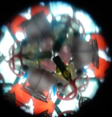 trash view / Müllkaleidoskop, Kleinteile gesammelt, April 2015, Spielplatz in Hannover/ Waldstrasse
