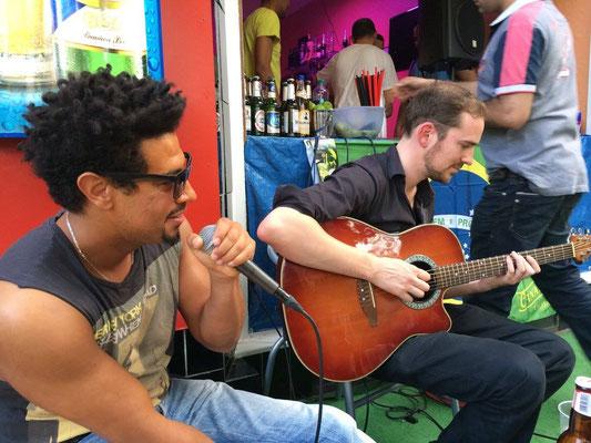 Fete de la Musique Jam with Flinte and Jonez Bonz