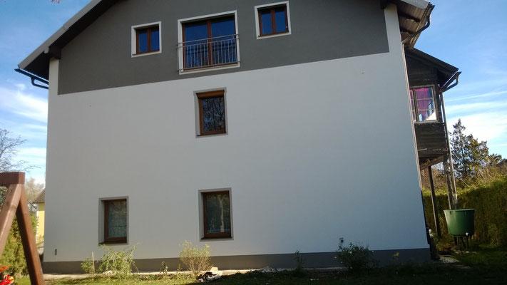 Vollwärmeschutz und Fassadenerneuerung Edling