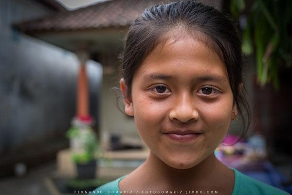 Niña balinesa / Balinese girl. Bali. Indonesia 2018