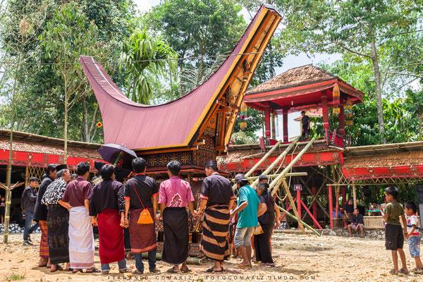 Ceremonia funeraria /Funeral ceremony. Rantepao. Tana Toraja. Sulawesi. Indonesia 2018