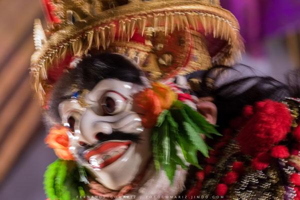 Jauk. Danza balinese / Balinese dance. Legong Dance and Ramayana. Ubud Palace. Bali. Indonesia 2018