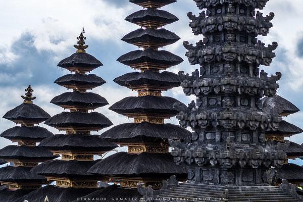 Pura Agung Besakih Temple. Karangasem. Bali. Indonesia 2018
