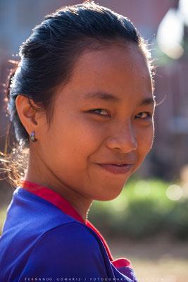 Joven chica toraja / Young girl toraja. Limbong. Tana Toraja. Sulawesi. Indonesia 2018
