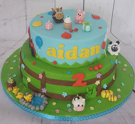 Beroemd Verjaardagstaarten en cupcakes kind - voor elk feestje een taart @MX89