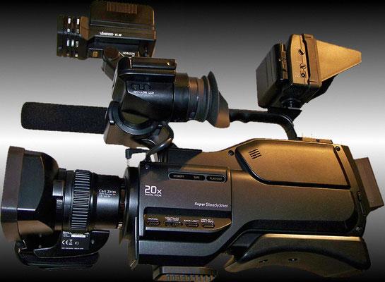 und das hier ist meine derzeitige, eine Sony HVR-HD1000E