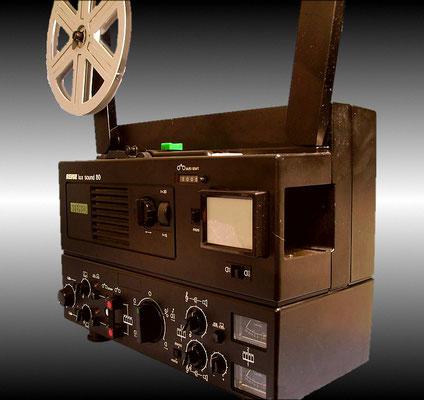 Mein erster Filmprojektor, Magnetton, Revue lux sound 80, von Neckermann