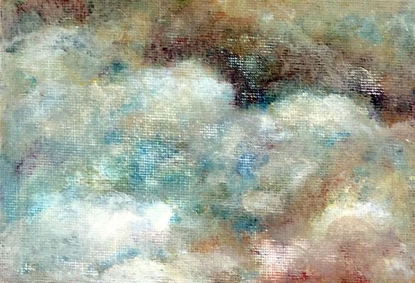 HEMEL Acryl auf Leinwand - 10 x 15 cm