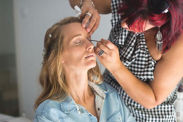 Maquillage mariée Gard
