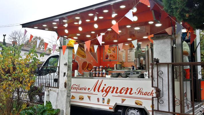 food truck gourmandises anniversaire mariage