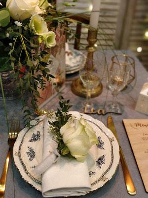 Location vaisselle vintage mariage