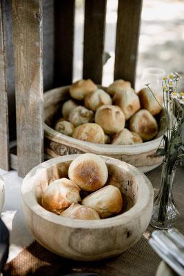 cagette pain mariage champêtre