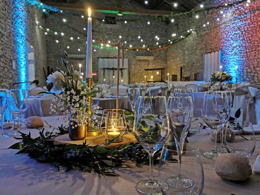 Décoratrice décoration mariage champêtre chic