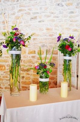 Fleurs mariage cérémonie