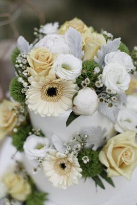 Fleurs Naturelles et wedding cake