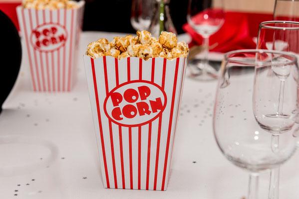 pop corn mariage