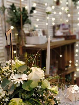 Decoration mariage moody naturel chic