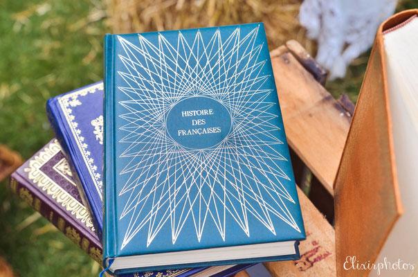 livres déco mariage rétro