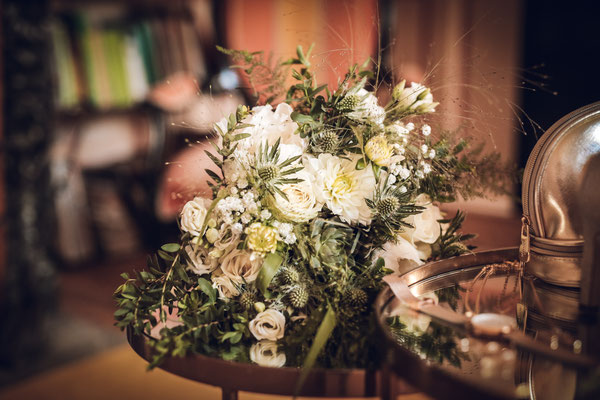 Bouquet mariée champêtre chic