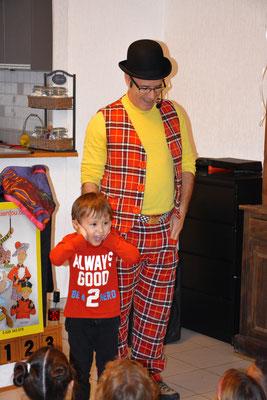 magicien anniversaire enfant Hérault