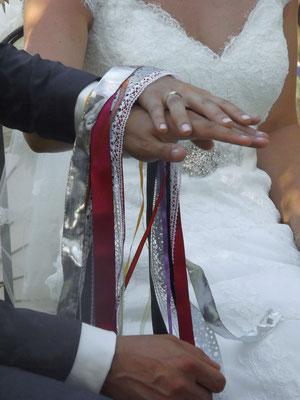 rubans céltes mariage