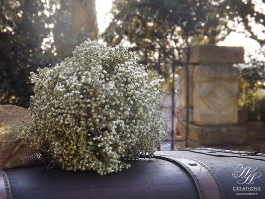 bouquet vintage champêtre