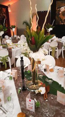 décoration mariage thème voyage exotique