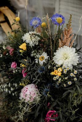 fleurs des champs mariage