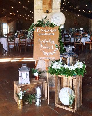 décoratrice mariage champêtre Occitanie Camargue