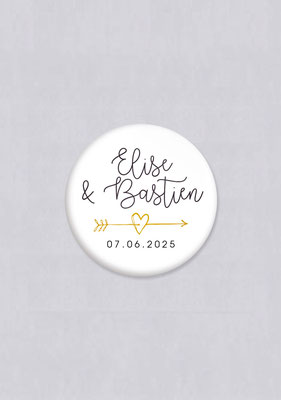 badge original mariage